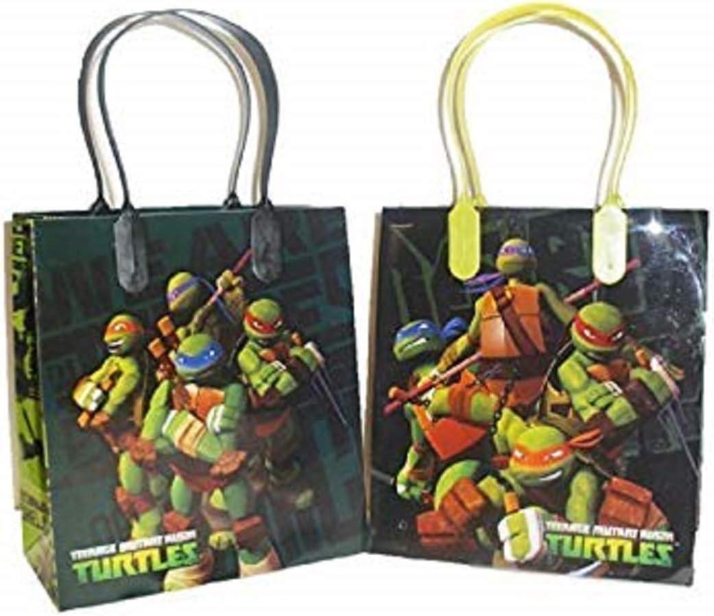 TEENAGE MUTANT NINJA TURTLES Blowouts Pack of 8 Party Favours Loot Bag Birthday