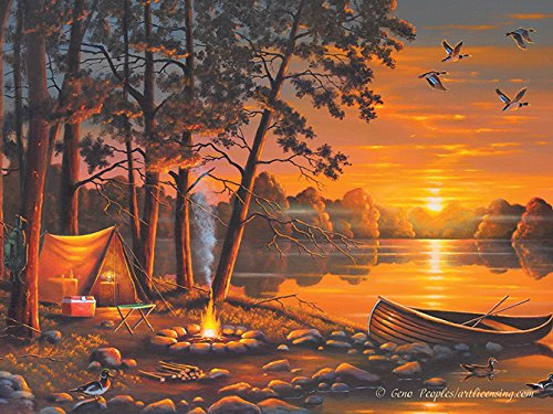 Rivers Edge Products 16 x 12 LED Wall Art R & R River's Edge Products 1755
