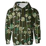 Best Bud Hoodies - K321dsh21 Sweatshirts Flower Bud Man Fashion Hoodie Hooded Review