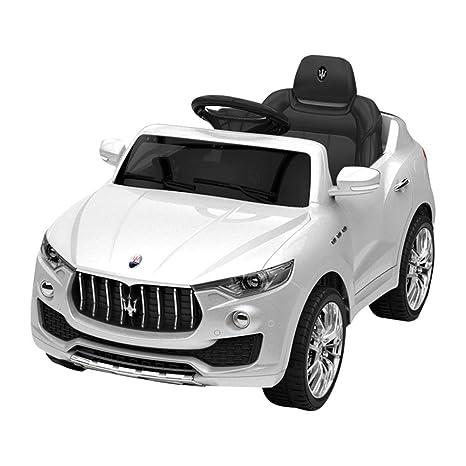 Bambini Elettrica Per Levante Maserati Macchina 12v BiancaAmazon ZiuPkOX