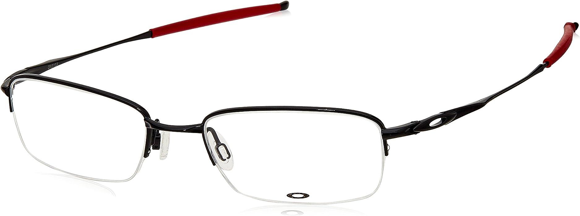 eafaaf99b4 Prescription Eyeglasses OX3133 - 0753 - Polished Black Red. Back.  Double-tap to zoom