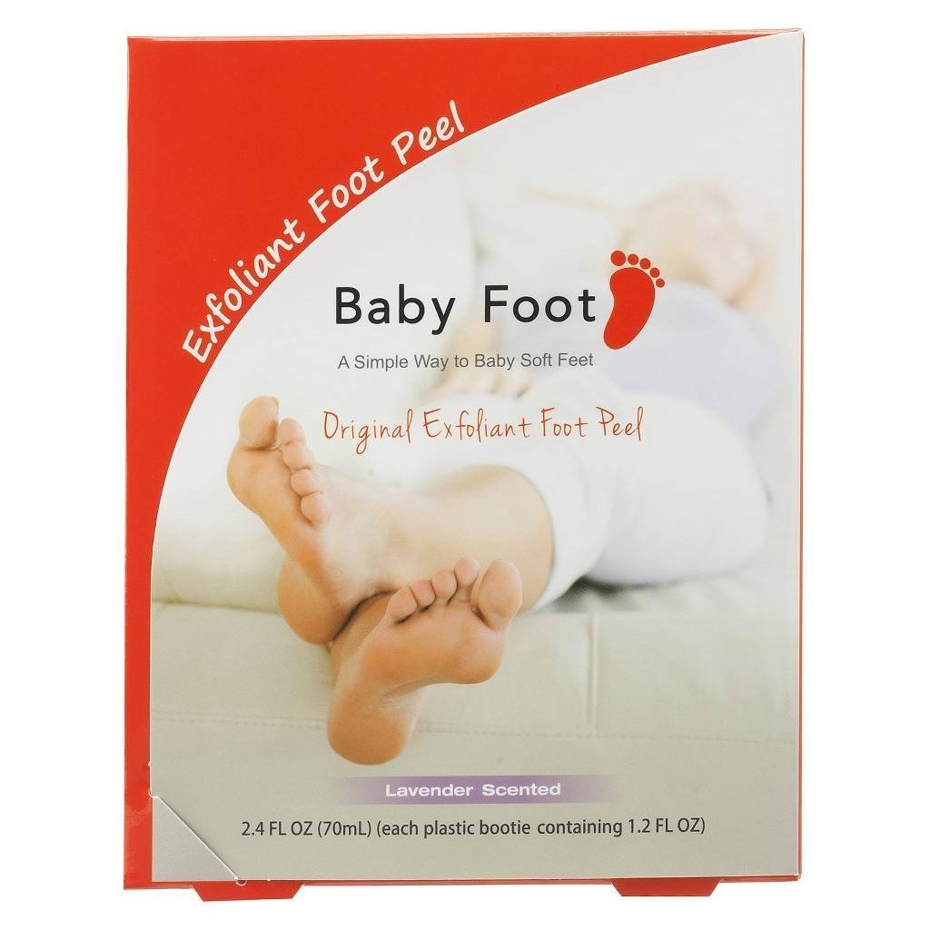 Baby Foot Easy Pack Original Deep Skin Exfoliation for Feet Babyfoot