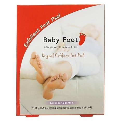 baby foot deep skin exfoliation