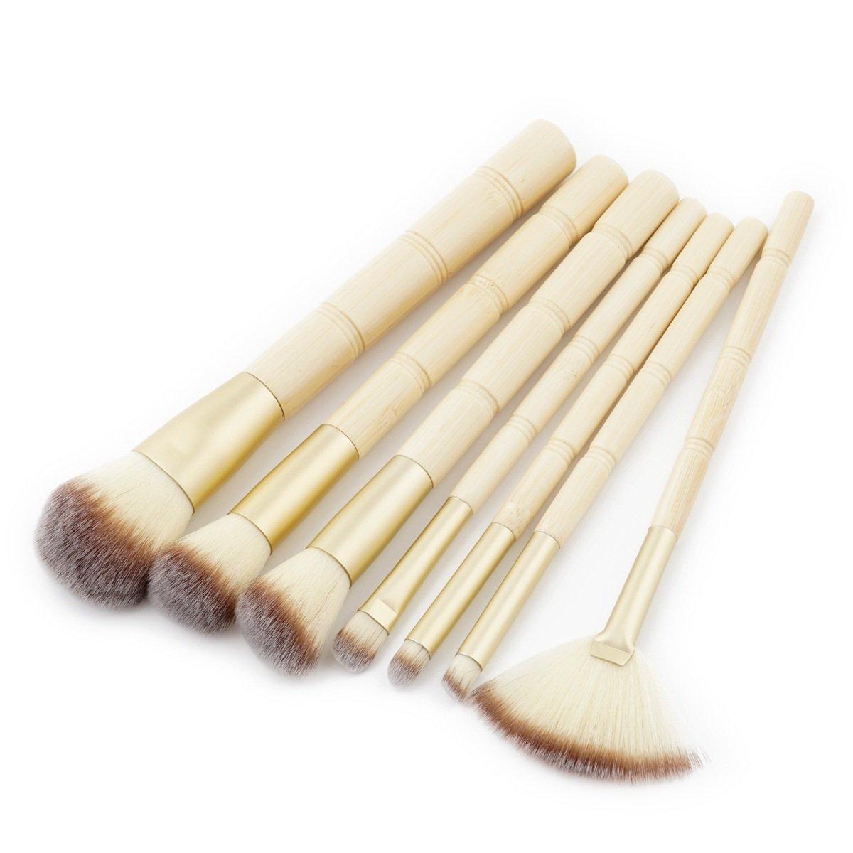 Cepillos de Maquillaje de bambú