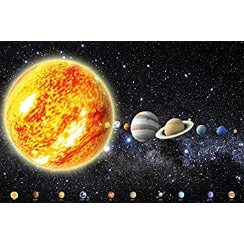 Our Solar System Poster Art Print Planet