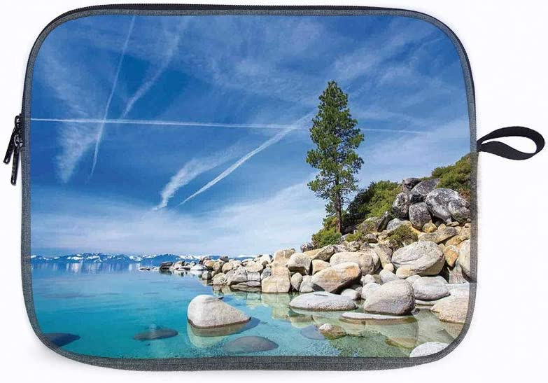 """Lake Clear Inland 14"""" Laptop Sleeve Bag Compatible with MacBook Pro,MacBook Air,Notebook Computer"""