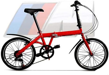 GHGJU Bicicleta de 20 Pulgadas de Alto Acero al Carbono Bicicleta ...