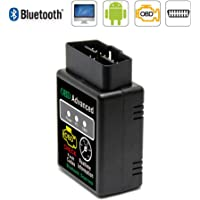 Sidougeri OBD2 V2.1 Mini ELM327 Bluetooth Auto Scanner Car Diagnostic Tool for Androi D