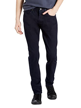 Levis Hombre 501 pantalones vaqueros carbonizados Skinny ...