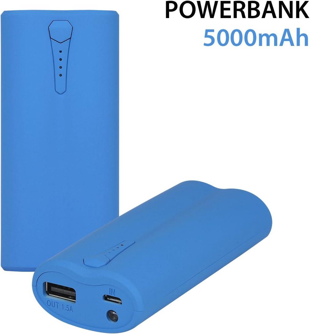 MOXIE batería de Emergencia 5000 mAh para Smartphone/Tablet/iPod ...