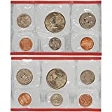 1992 P & D US Mint 10-Coin Mint Set Uncirculated