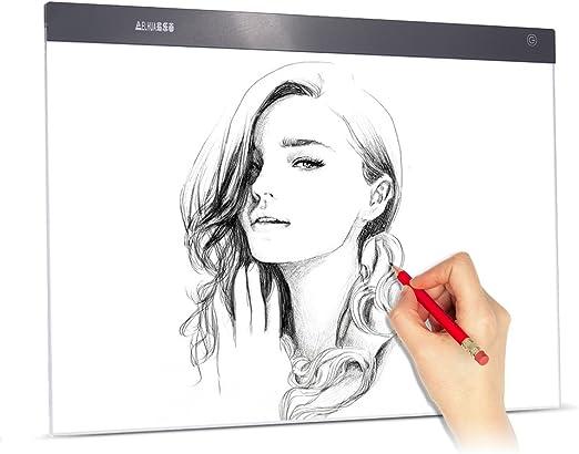 Aibecy A2 Large Ultra-thin Panel de iluminación LED Cuadro Pintura ...