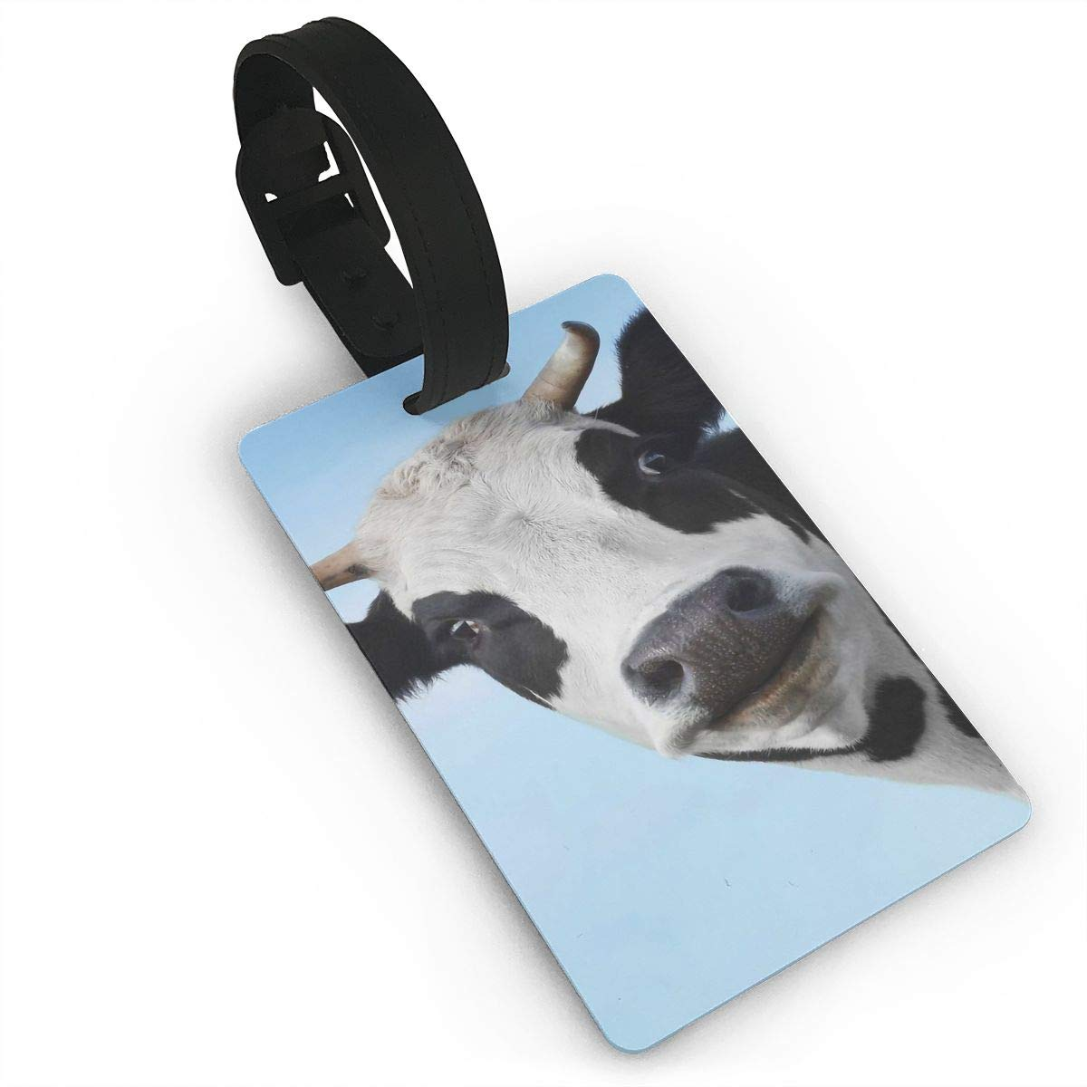 2 Pack Luggage Tags Cow Baggage Tag For Travel Tags Accessories