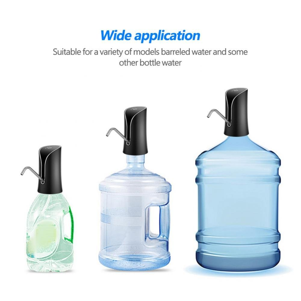 Yosooo Drinking Water Pump Electric Drinking Water Pump Dispenser for Home Kitchen Office (Black) by Yosooo (Image #7)