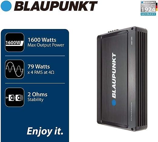 Blaupunkt 1600W 4-Channel Full-Range Amplifier AMP1604