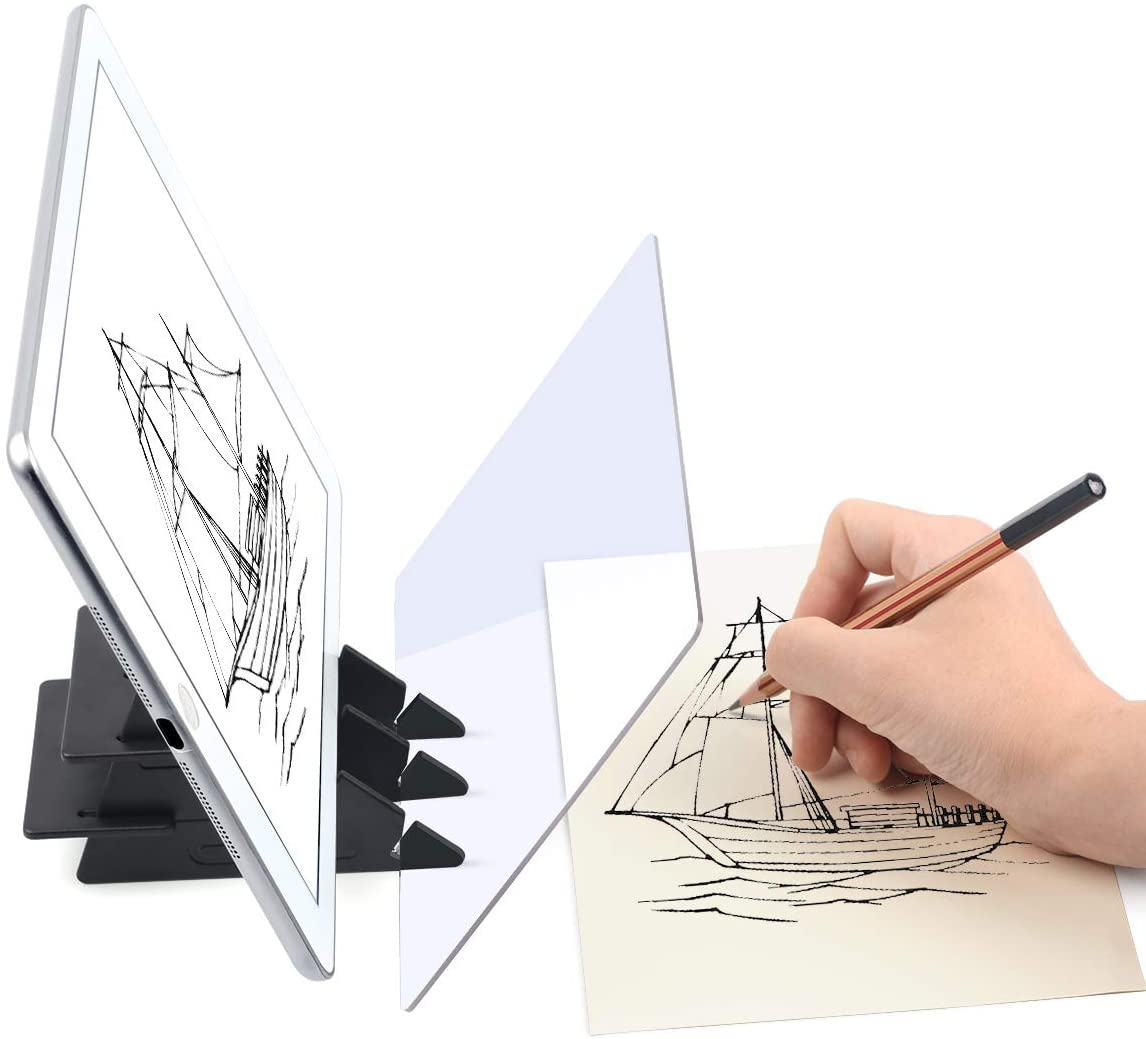 Sketch Tracing Drawing Board Optical Drawing Projector Painting Reflection TOP