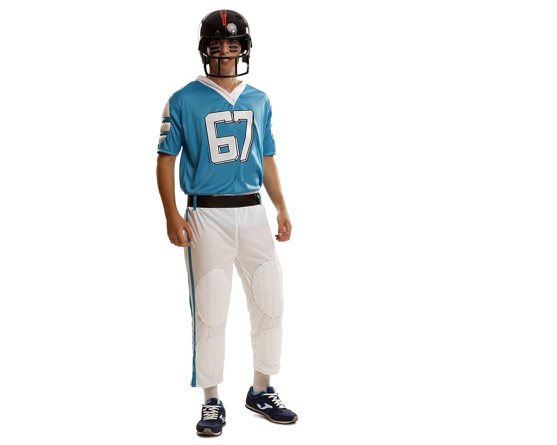 My Other Me Me - Disfraz de Jugador Rugby, talla M-L, color azul ...