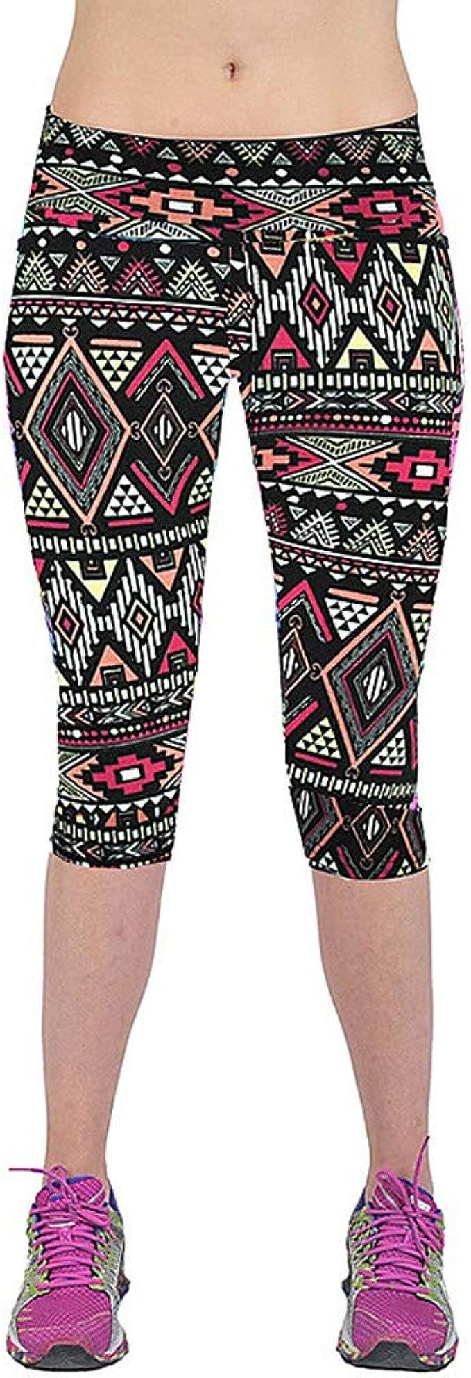 cinnamou Pantalones Bombachos Mujer Marrones Leggings Talle ...