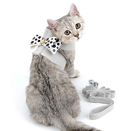 smalllee_lucky_store CWYP00127 - Arnés de ante para gatos y perros pequeños