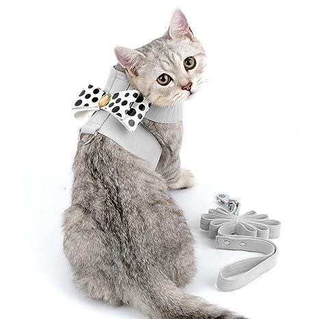 Smille_Lucky_Store - Arnés y Correa para Gato y Cachorro a Prueba de Escape, Cinta de