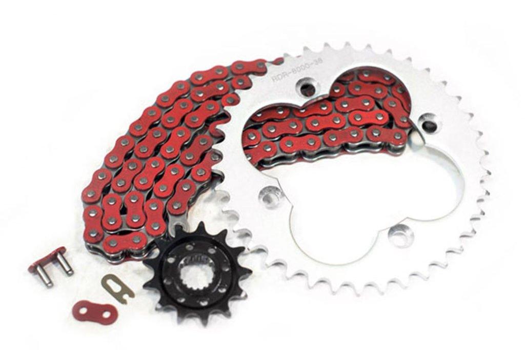 2006 2007 2008 2009 Honda TRX450R 450R Red O-Ring Chain 520x96L