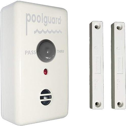 Poolguard-GAPT-2-Outdoor-Pool-Gate-Alarm,White