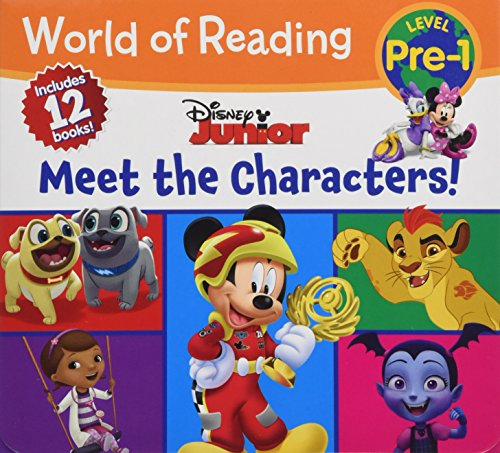 World of Reading Disney Junior Meet the Characters (Pre-Level 1 Box -