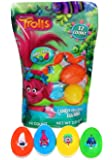 Dreamworks Trolls Candy Filled Eggs, Pack of 12