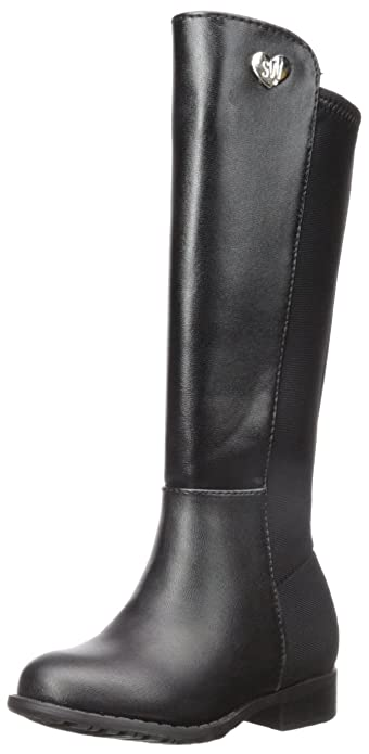 genuine shoes big discount best cheap Buy Stuart Weitzman Girls' 5050-T-K, Black, 6 M US Toddler at ...