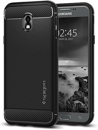 Funda Spigen comtatible con Samsung Galaxy J3 2017, Rugged Armor con absorción de choque resistente: Amazon.es: Electrónica