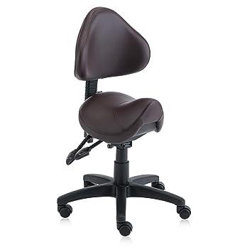 Superb Dr Lomilomi Hydraulic Saddle Rolling Clinic Spa Massage Stool Chair With Back Rest 510 510 With Frankydiablos Diy Chair Ideas Frankydiabloscom