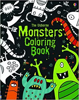 the usborne monsters coloring book coloring books candice whatmore 9780794531959 amazoncom books - Usborne Coloring Books