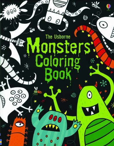 The Usborne Monsters Coloring Book Coloring Books Whatmore Candice 9780794531959 Amazon Com Books