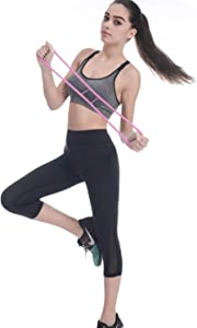 LONGFITE Booty Workout Bands Resistance Booty Kit Belt Butt Glute Thigh Exercise Bands Silicone for Women Booty Lift, Sculpt & Tone,Glutes Muscle Workout for Body Stretch Chest Expander