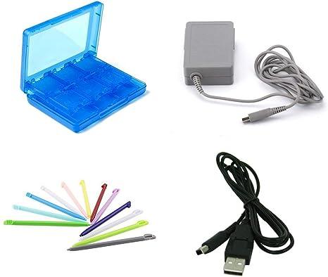 Yichumy - Kit de 4 en 1 Adaptador de CA para Nintendo 3DS ...