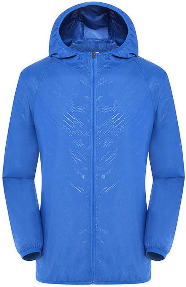 SUMTTER Laufjacke Herren Winter Ultraleicht Regenjacke Damen Wasserdicht UV-Schutz Outdoor Softshell Jacken Unisex Sport 2019