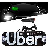 Amazon.com: Luces LED para coches, cartel de luz LED ...