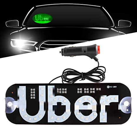 Amazon.com: TGAUTO Auto Parts Bigger Size Ride Share LED ...