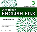 American English File Second Edition Level 3 Audio CD