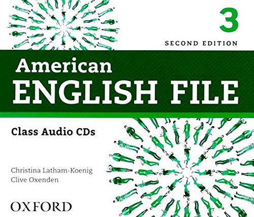 American English File Second Edition Level 3 Audio CD by Oxford University Press