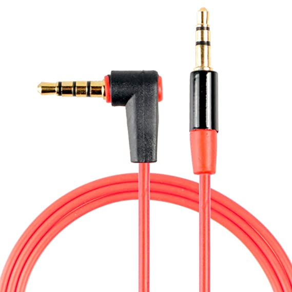 conwork 2-pack 3 5mm audio extension cable male to male auxiliary 4- conductor