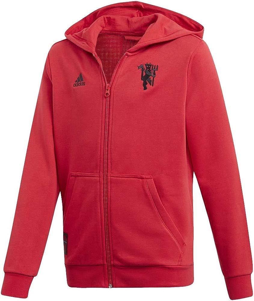 YTATime New Mens Manchester United ZNE 3.0 Anthem Jacket Full Zip Navy