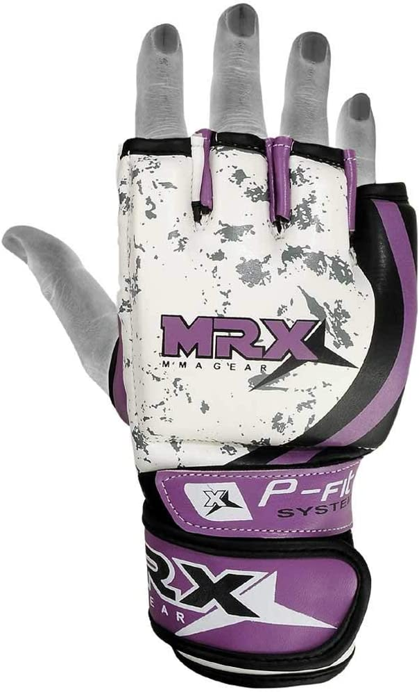 MRX BOXING /& FITNESS MMA Ladies Grappling Training Gloves Cage Women Fighting Sparring Gloves Purple