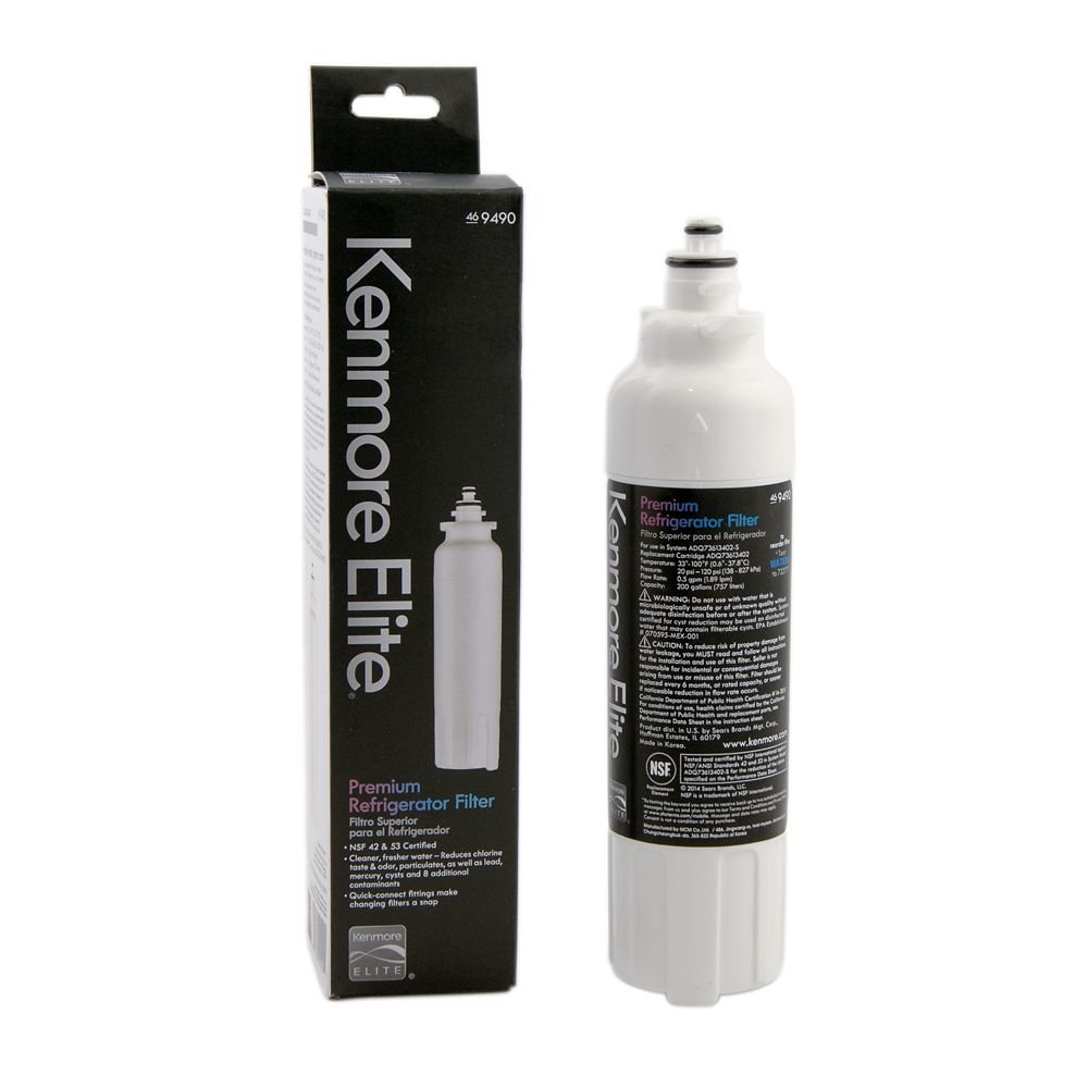 Kenmore Elite 9490 Refrigerator Water Filter, Original Equipment Manufacturer (OEM) Part