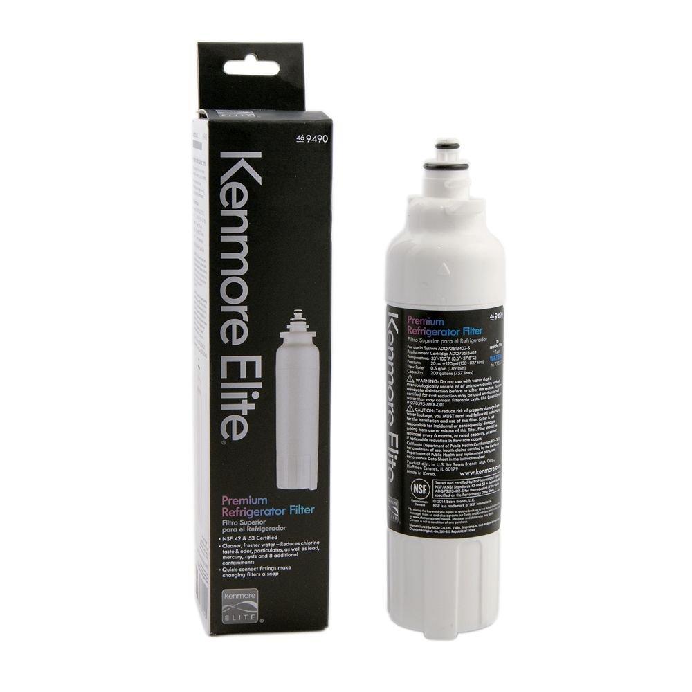 Kenmore Elite 9490 Refrigerator Water Filter, Original Equipment Manufacturer (OEM) Part