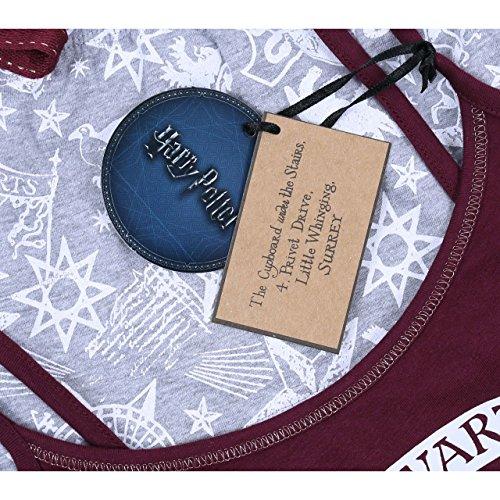 Harry Potter Hogwarts Top & Shorts Shorty Schlafanzug Nachtwäsche kurz Pyjama