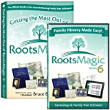 RootsMagic 6 Family Tree Genealogy Software / Book Bundle