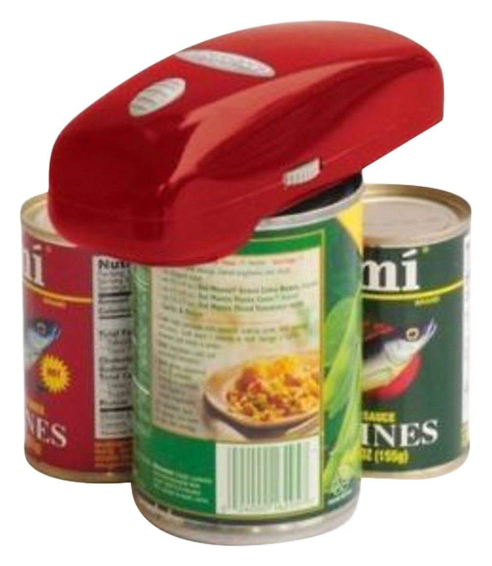 Handy Can Opener : Automatic One Touch Electric Can Opener by handy can opener