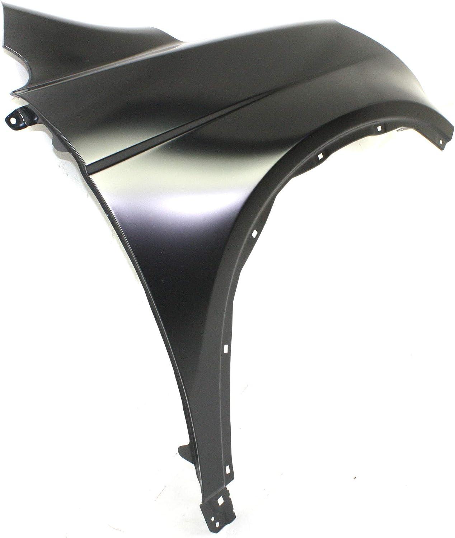 Front Fender Compatible with 2007-2011 Honda CR-V CAPA Passenger Side