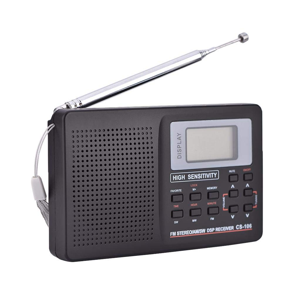 Jacksking Radio Receptor de frecuencia Completa, FM/Am/SW/LW ...